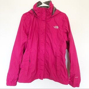 The North Face | Resolve Rain Jacket Azalea Pink